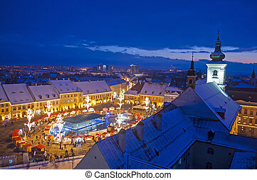 Winter in Sibiu