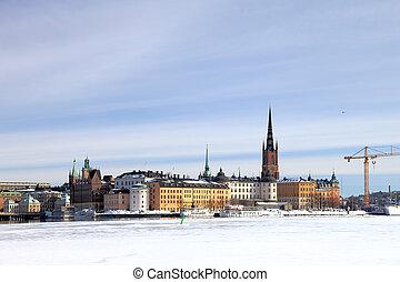 Winter in Stockholm