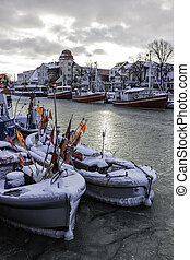Winter in Warnemuende