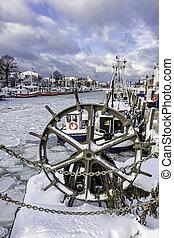 Winter in Warnemuende