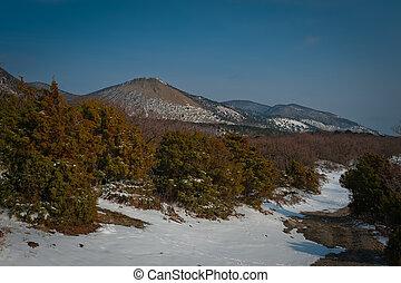 Big Utrish, winter landscape