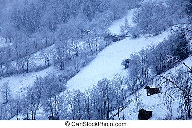 winter landscape in Tirol, Austria