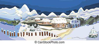 Winter Landscape - artwork