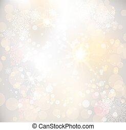 Winter light background