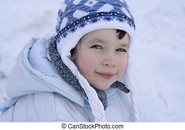 winter, m�dchen