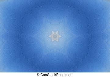 Winter Mandala Star