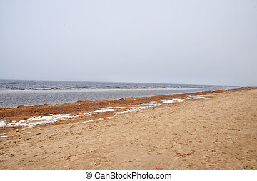 winter., mar báltico