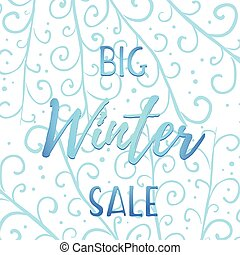 Winter mobile banner sale