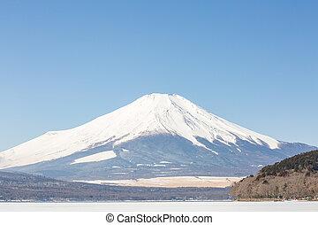 Winter Mount Fuji Yamanaka Lake - Winter Mount Fuji at Iced ...