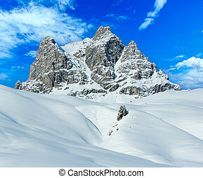 Winter mountain (Austria, Tyrol)