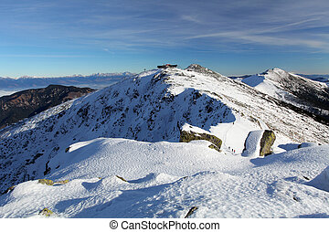 Winter mountain in Slovakia, Low Tatras