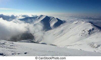 Winter mountain landscape - Time la