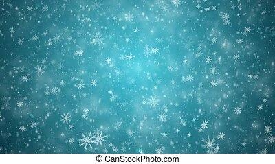 Winter New Year background