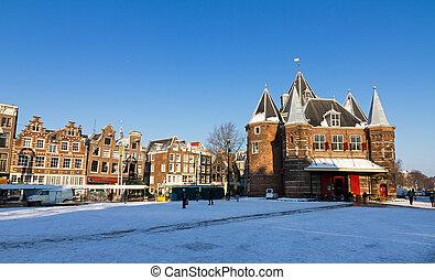 Winter nieuwmarkt