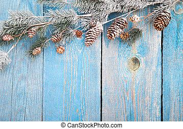 winter, oder, weihnachten, hintergrund, begriff