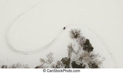 Winter off-road racing.