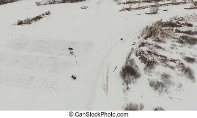 Winter off-road racing. - Winter off-road racing...
