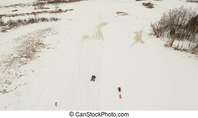 Winter off-road racing. - Winter off-road racing...