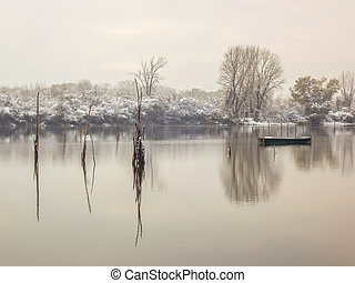 Winter on the Lake