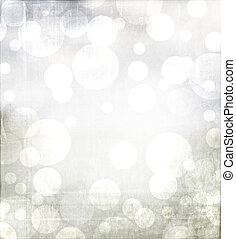 Winter or Christmas abstract background with grey and blue tones. With metalic grunge overlay.