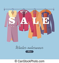 Winter Outerwear Sale Banner Winter Collection - Winter...