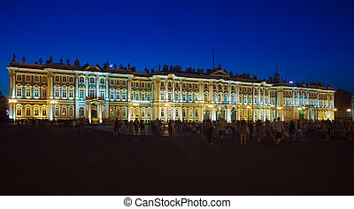 Winter Palace at Evening, Saint Petersburg