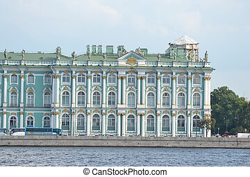Winter Palace in St.Petersburg.