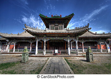 Winter palace - ulaanbaatar, the capital of Mongolia