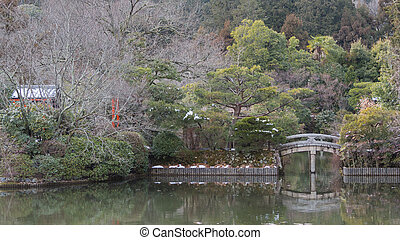 Winter Park in Kyoto, Japan