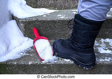 Winter - salt