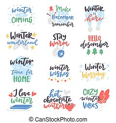 Christmas greetings lettering holiday wish saying and vintage winter quote vector card text design logo lettering typography saying hello christmas poster holiday quotation decoration m4hsunfo