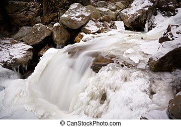 Winter River, Austria