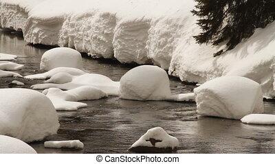 Winter river.
