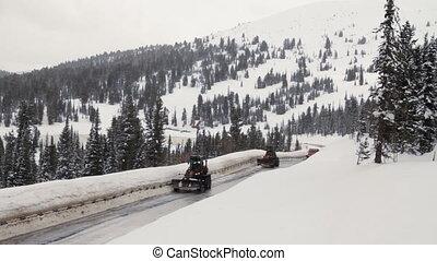 Winter road.