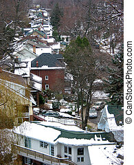 Winter rooftops 1