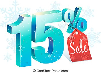 Winter Sale 15 Percent Off - Winter Shopping Sale Discount...