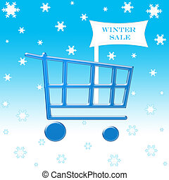 Winter sale cart
