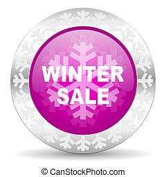 winter sale christmas icon