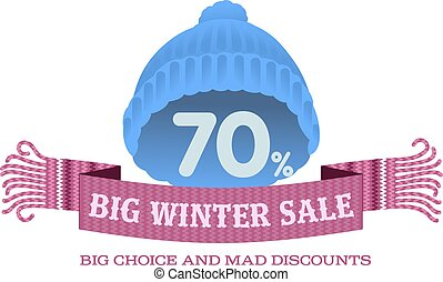 Winter Sale Banners Readymade Garment Banners