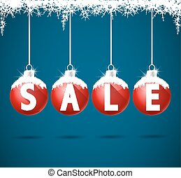 Winter Sale - Vector illustration sale tags for winter ...
