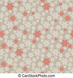 Winter seamless christmas pattern