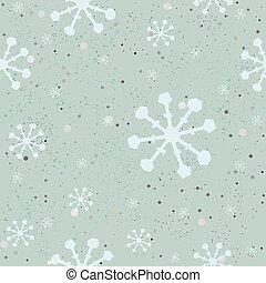 Winter Seamless Pattern. Vector Illustration