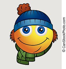 Winter Season - Cute Cartoon Emoji