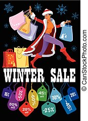 Winter seasonal sale