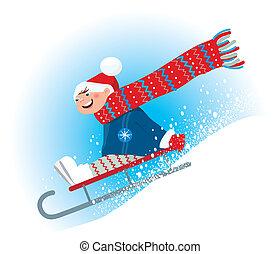 Winter sledge