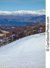 Winter Snow Mountain Landscape