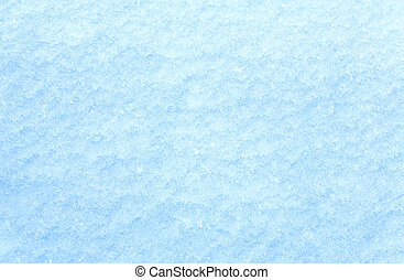 Winter snow surface (macro)