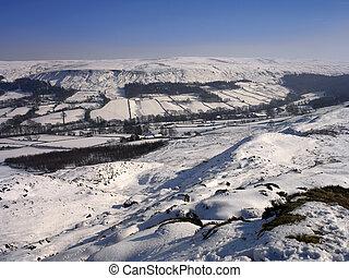 Winter Snow - Yorkshire - England
