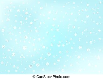 Winter snowfall background. Abstract background