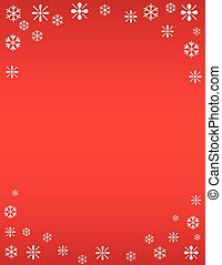 Winter Snowflake Holiday Template